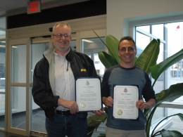 Our Volunteers are Recognized!